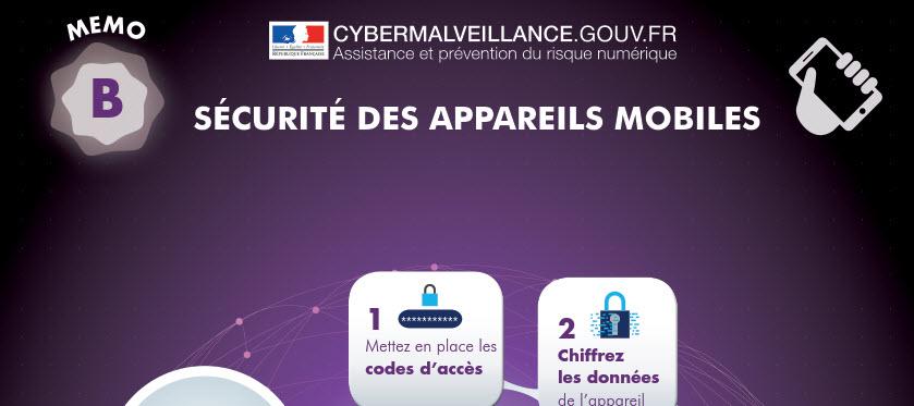 la sécurité des appareils mobiles par cybermalveillance.gouv.fr